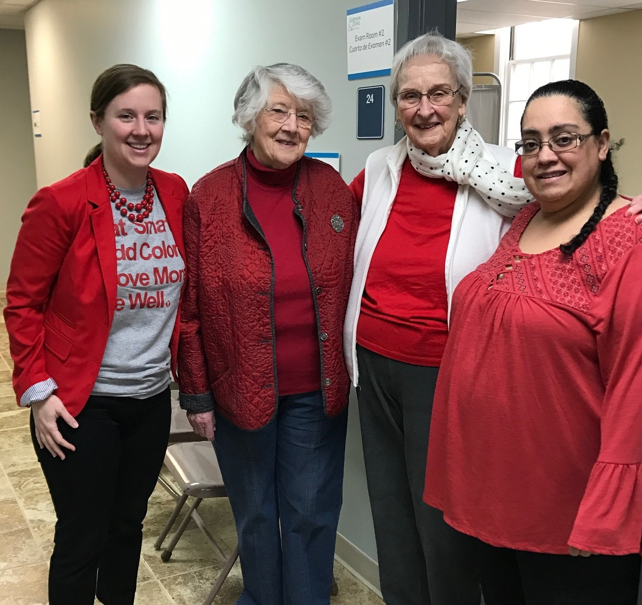 Today is #WearRedDay to raise awareness for women's heart health. We at Culmore Clinic work hard to treat and prevent heart disease for all of our patients and so are proud to participate.