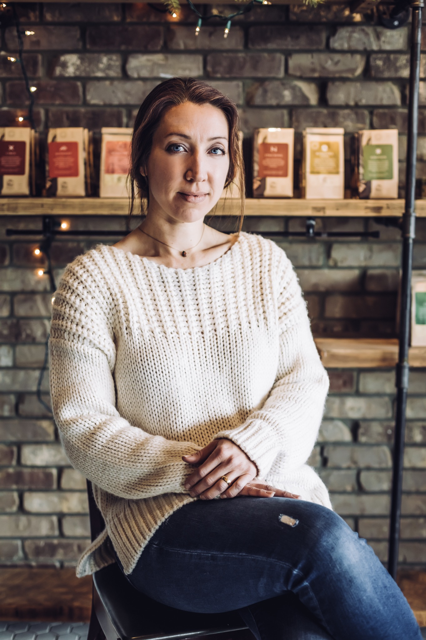 Andrea Lawse, Chief Tea Artisan and CEO of Artemis Teas & Botanicals