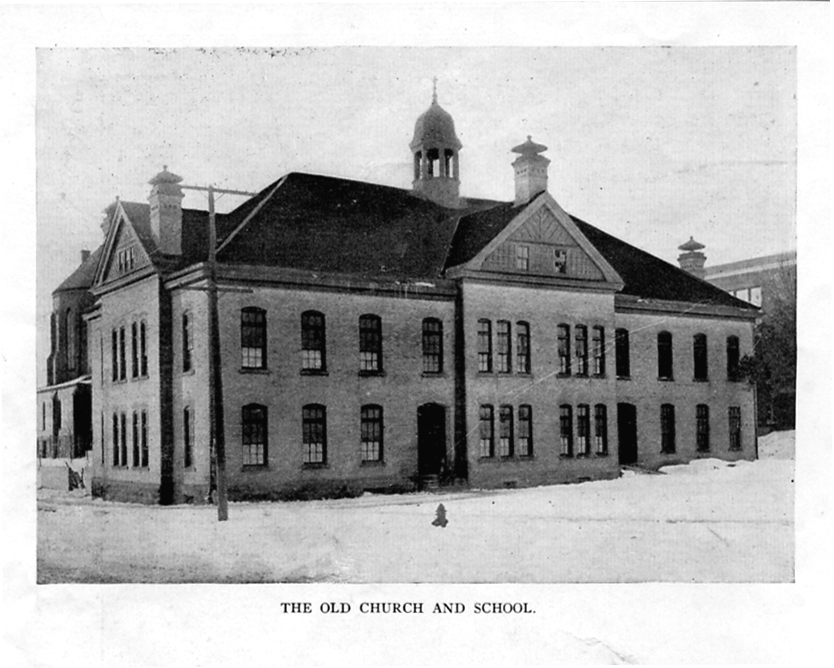 1913 - A new school building was constructed.