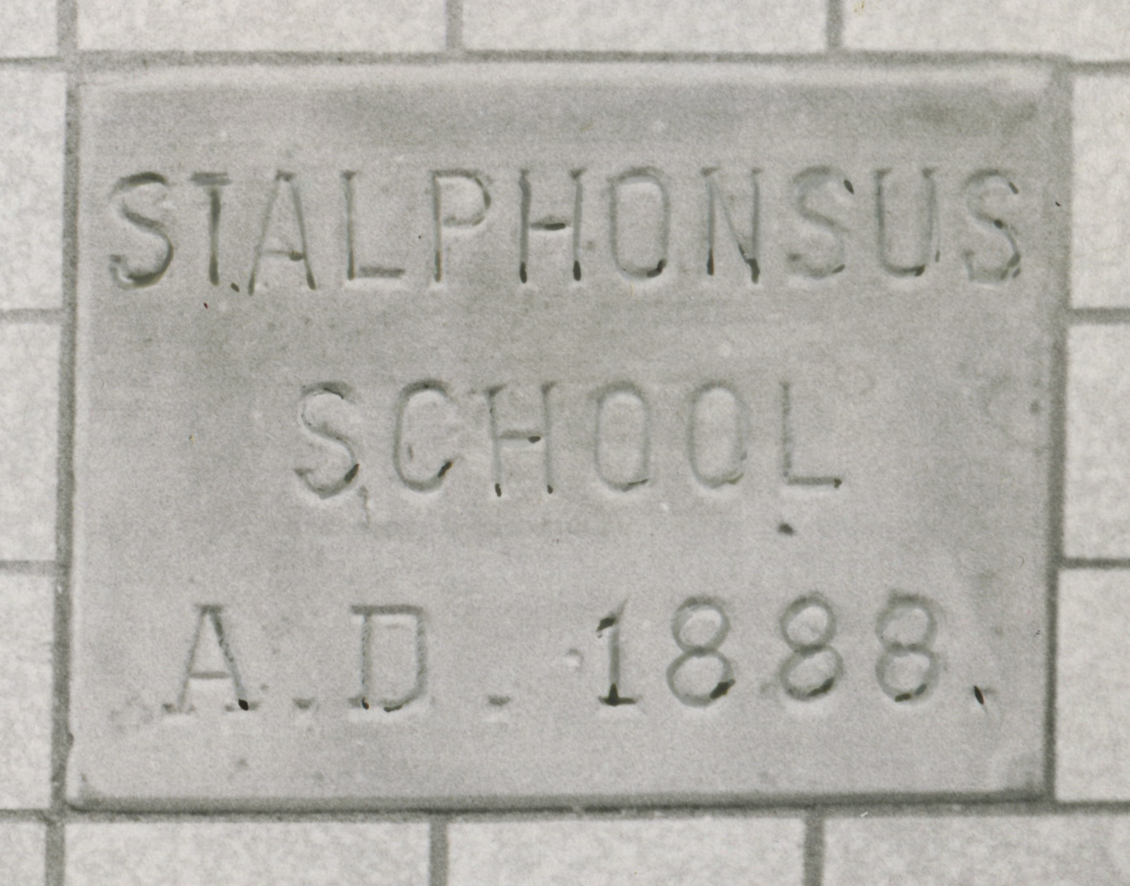 1889 - The Dominican Sisters started a school at St. Alphonsus Parish.