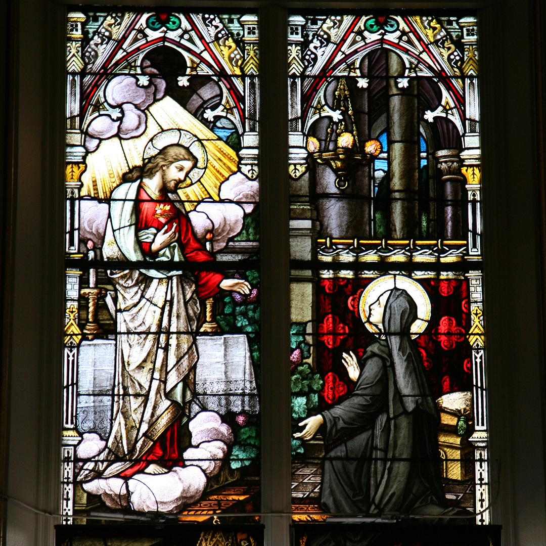 9. Sacred Heart and St. Margaret Mary Alocoque