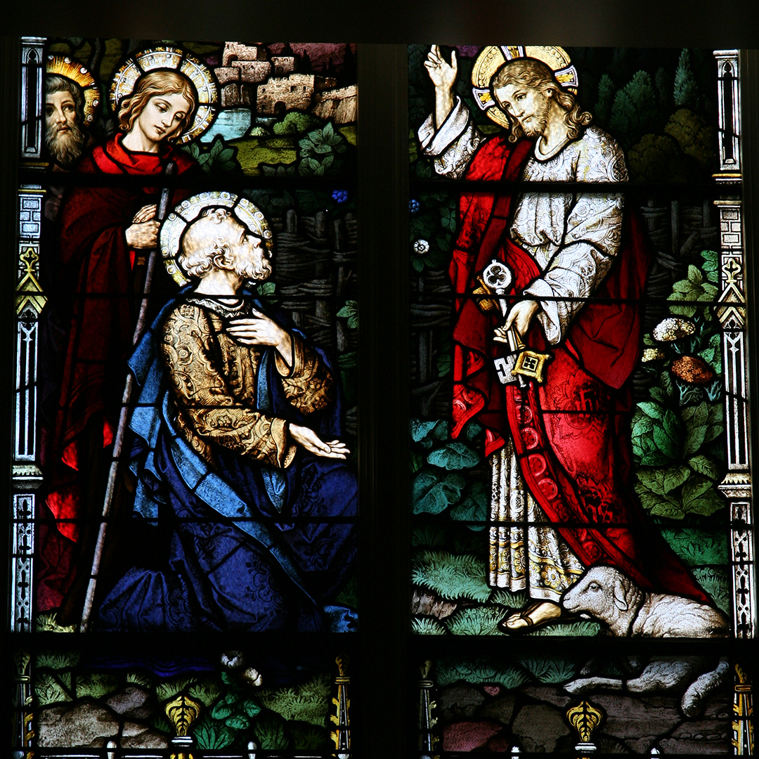 12. Peter receives the keys to the Kingdom