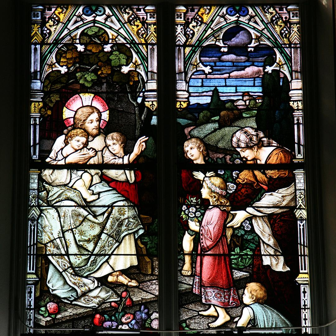14. Jesus and the children