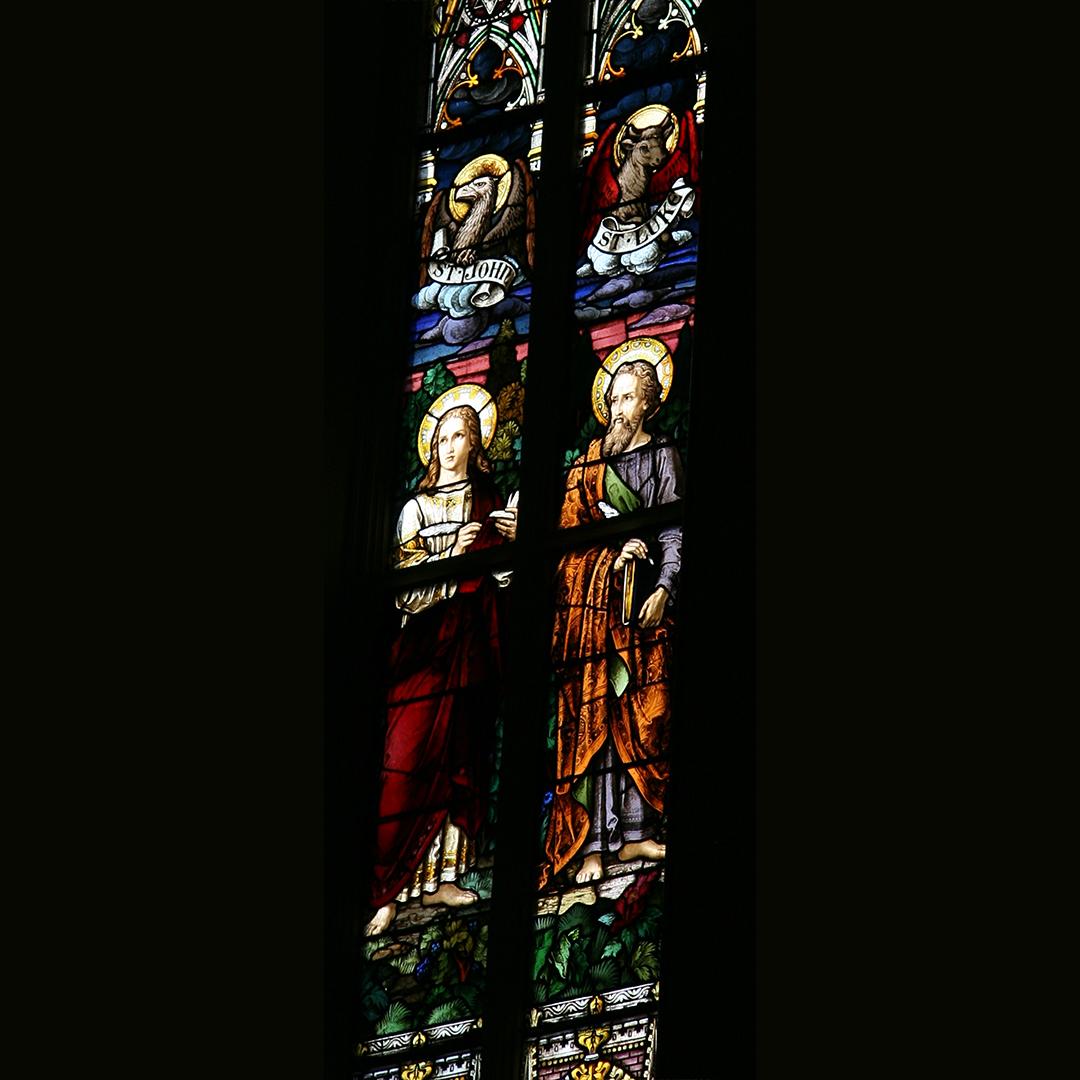 23. Evangelists: John and Luke