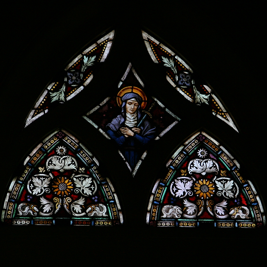 31. Mary Sanctuary Window