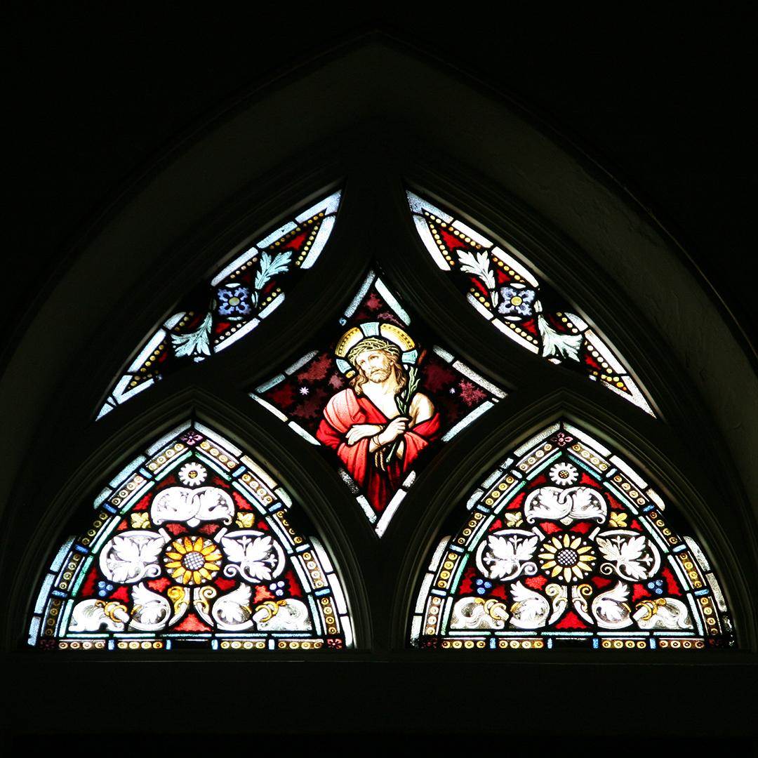 32. Jesus Sanctuary Window
