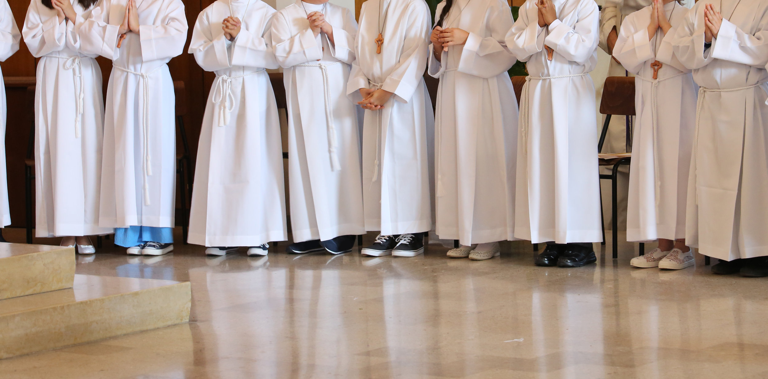 Altar Servers - Altar Servers assist the priest during the celebration of the Mass. There are a few training sessions each year and all youth in 4th grade or higher are strongly encouraged to join this ministry.Contact: Angela Mitchell, 616-361-5627