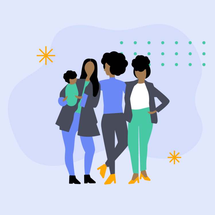 Jenny LeFlore Illustration - How Motherhood Works via The Mom Project