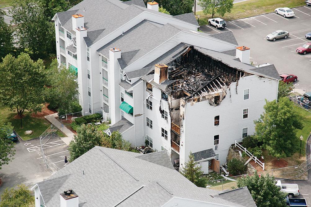 Condominium Fire Damage   Professional Loss Adjusters