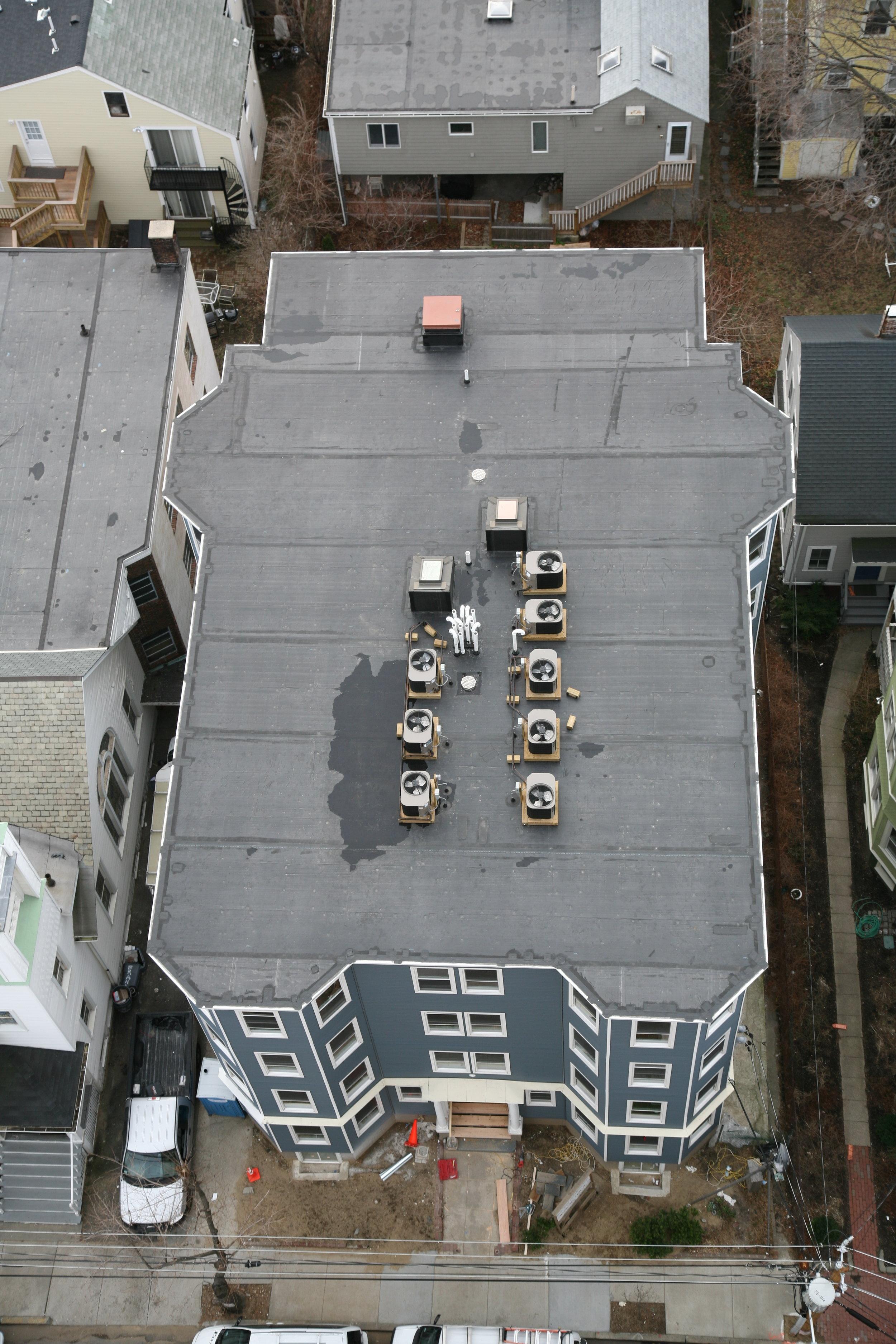 The entire fourth floor of this Cambridge, Massachusetts condominium needed to be rebuilt.