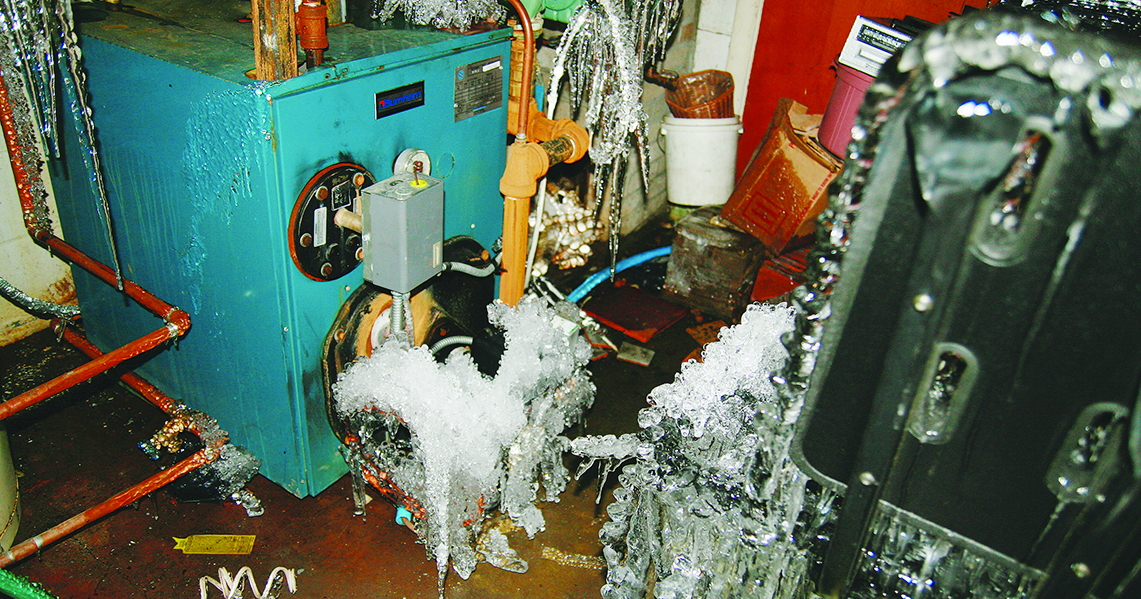 Frozen Pipes Water Damage | Professional Loss Adjusters