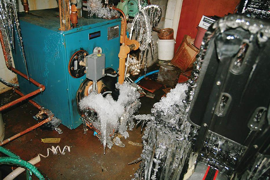 Boiler Frozen Pipe Damage | Professional Loss Adjusters