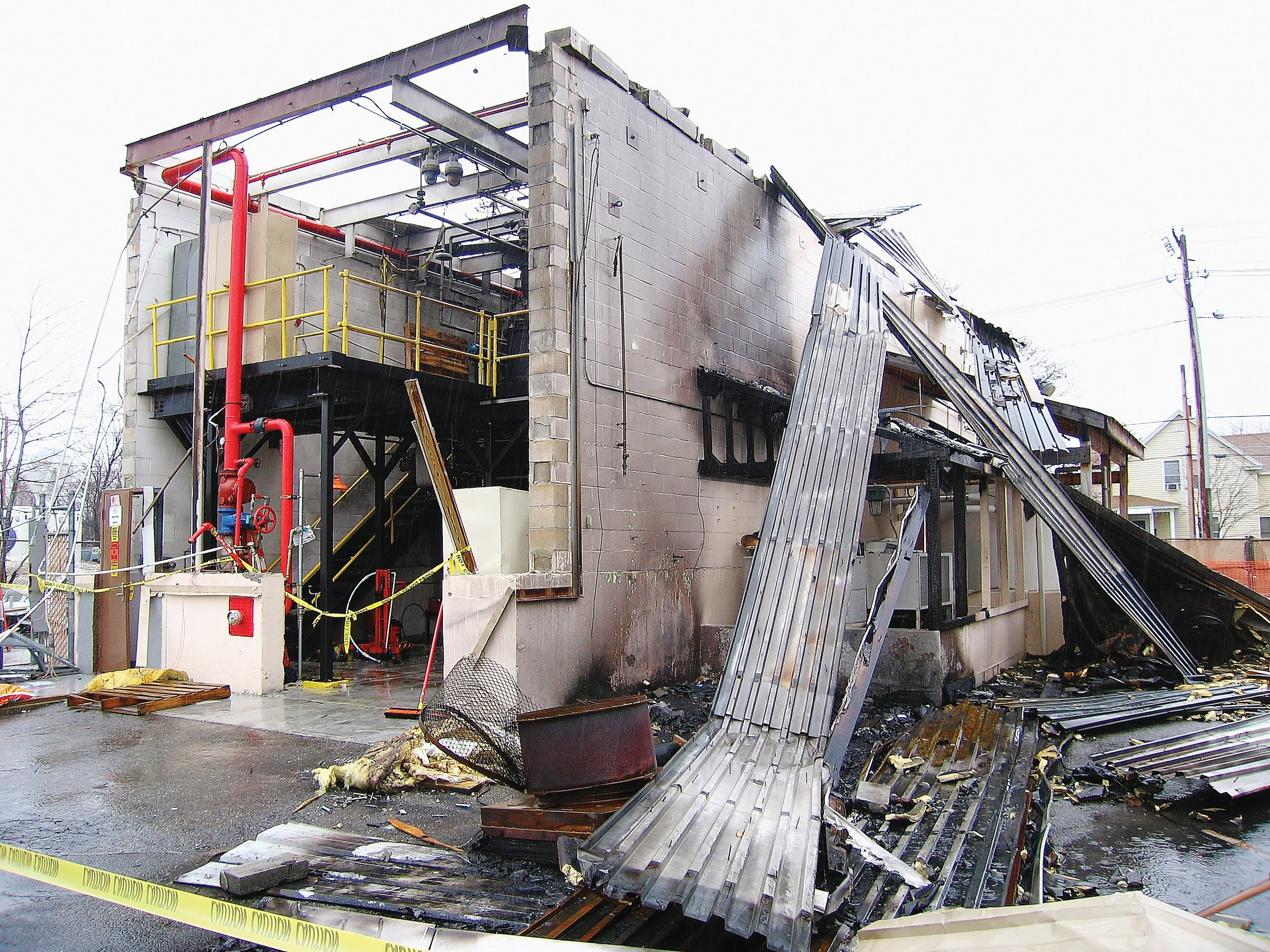 PCI Synthetics Explosion Damage | Professional Loss Adjusters