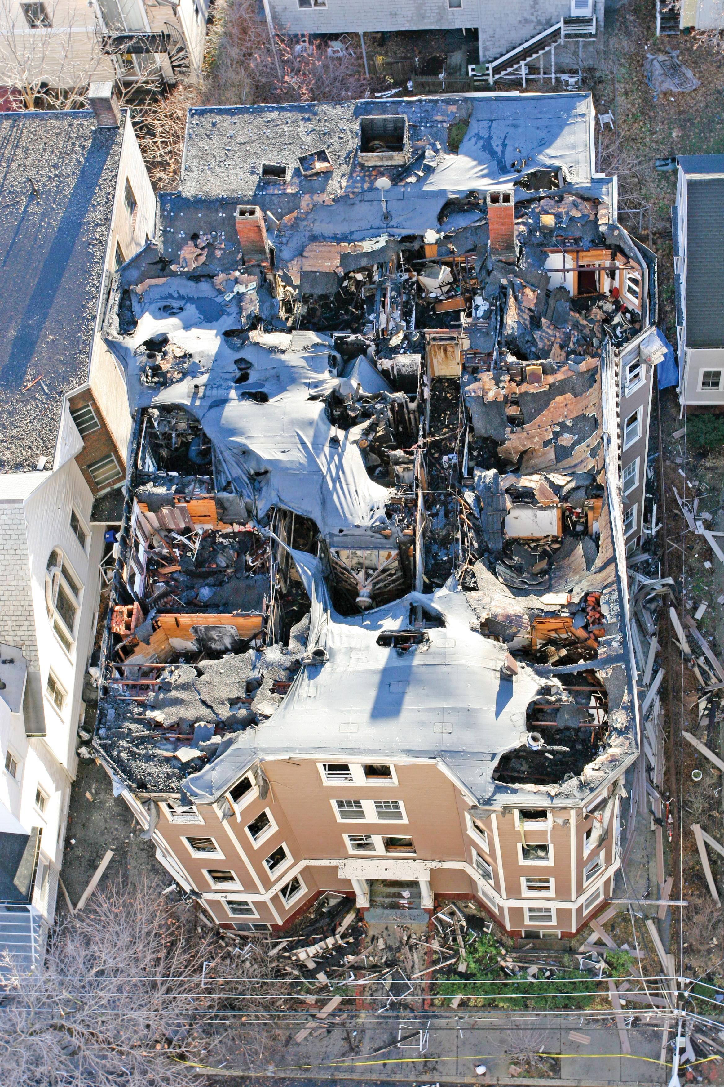 Cambridge Condo Fire Damage   Professional Loss Adjusters