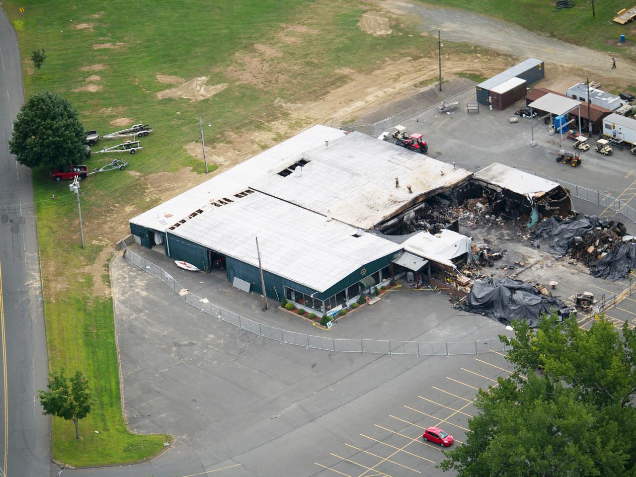 Brunelle's Dockside Restaurant & Marina Fire Damage   Professional Loss Adjusters