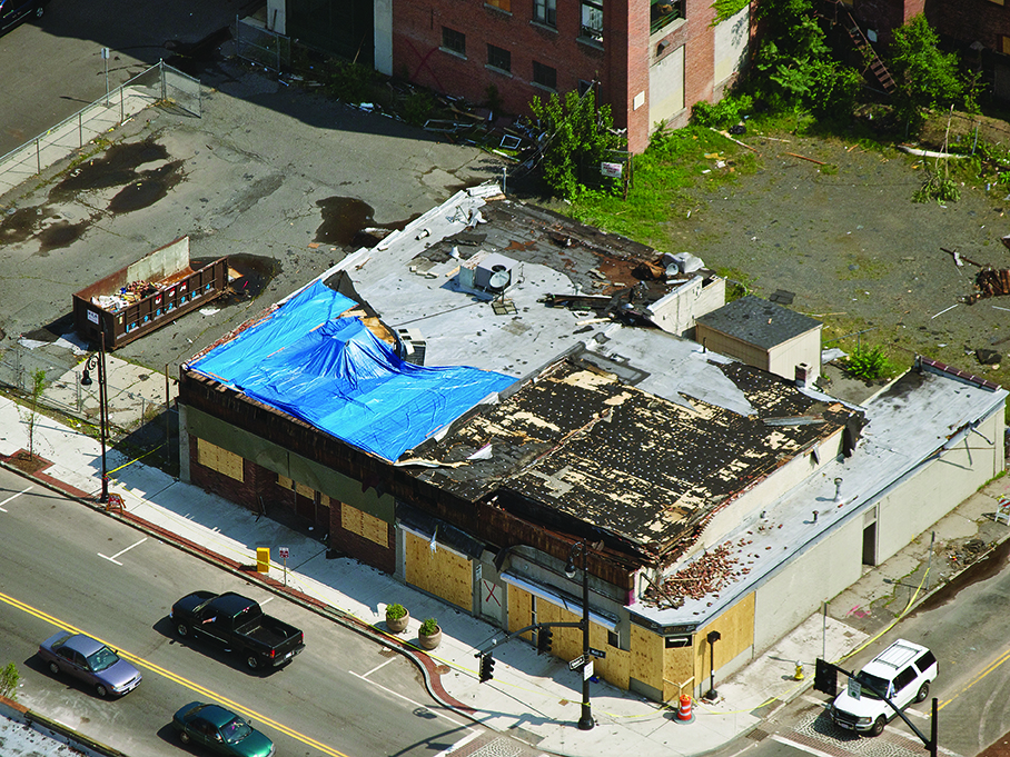 Commercial Building Tornado