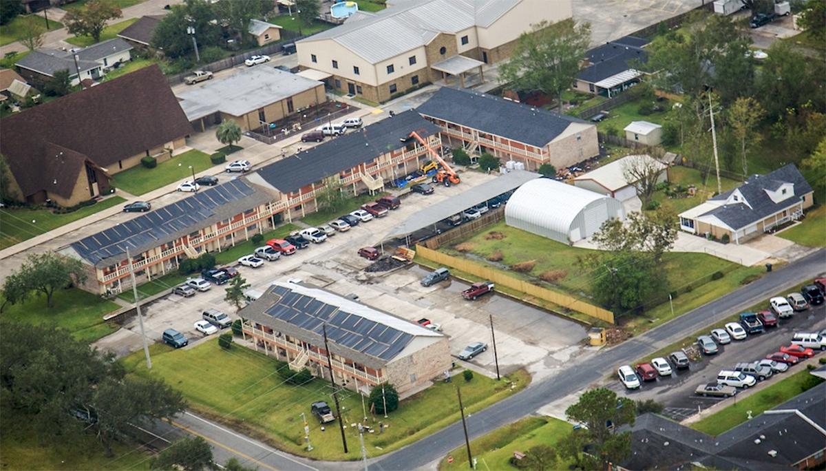 Apartment Complex Hurricane