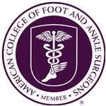 our foot doctors are members of the american college of foot and ankle surgeons