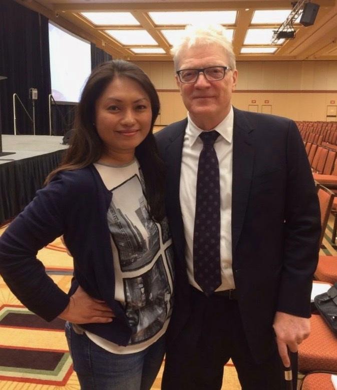 Me with Sir Ken!