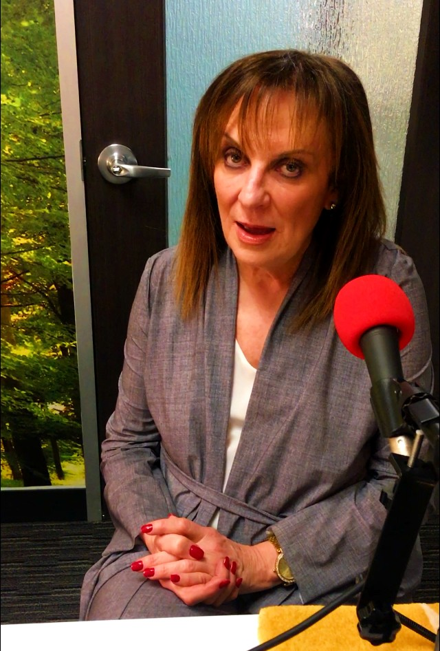Wendy Dolin pictured in studio