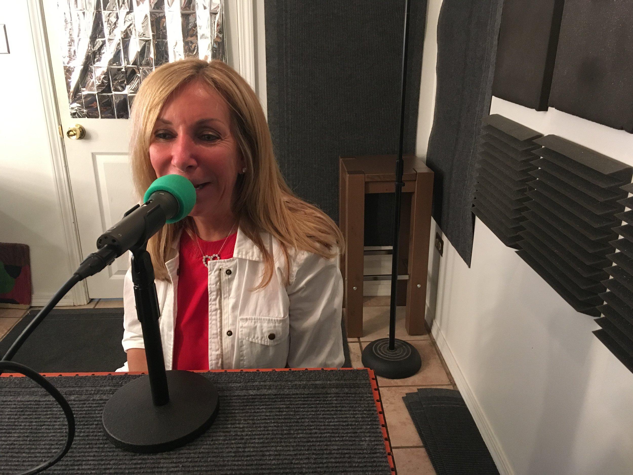 Gail Regenbogen in Studio C