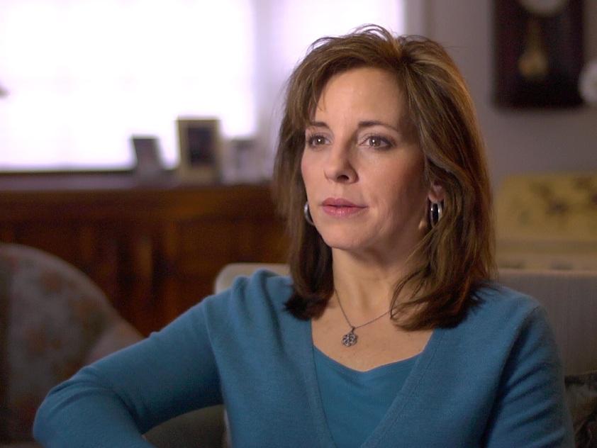 Kristina Gehrki pictured in the documentary  Netherworld ; photo courtesy of Kola Films.
