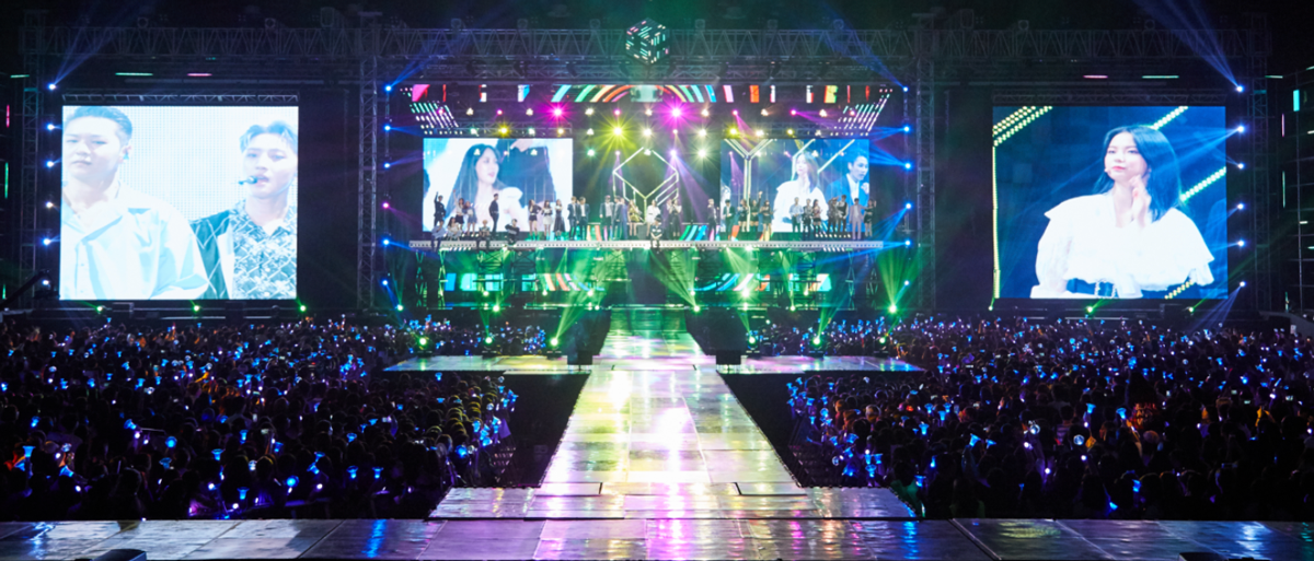 CUBE TV's Hangtime app delivers an intimate concert experience for their international audience
