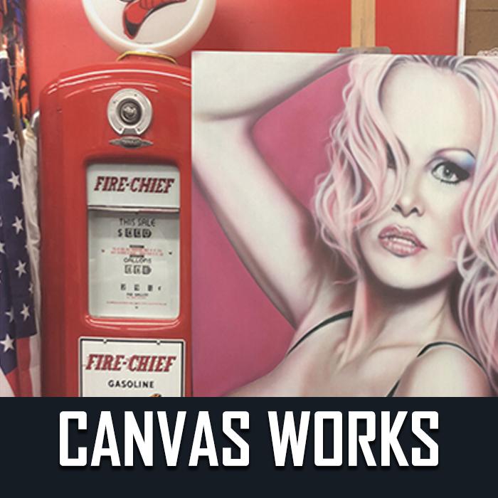 canvas..
