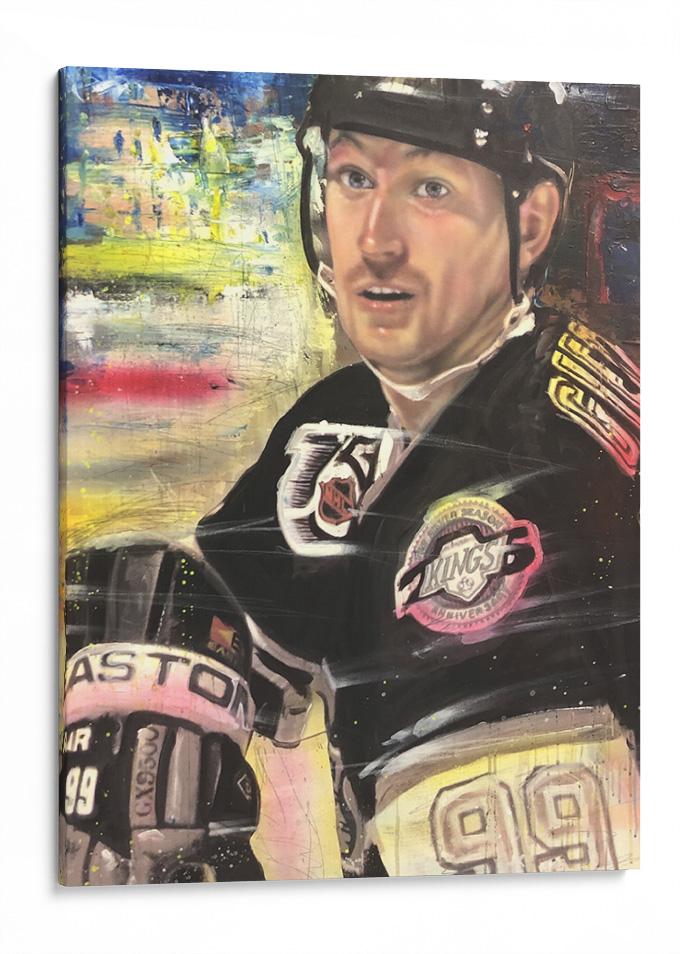 Wayne Gretzky art by Chris Tutty