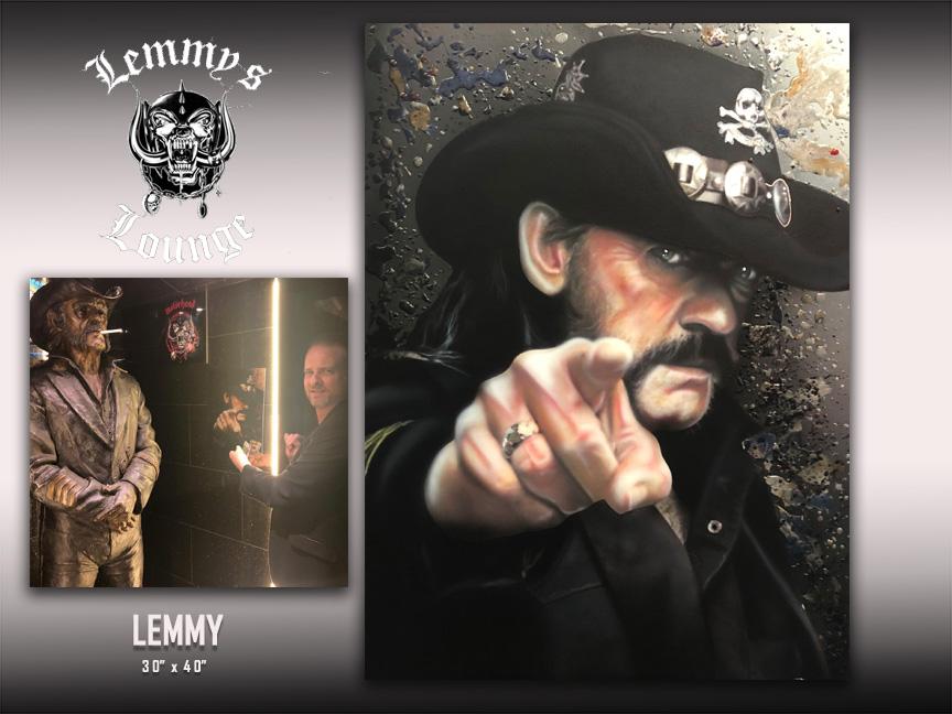 Lemmy Lounge art by Chris Tutty