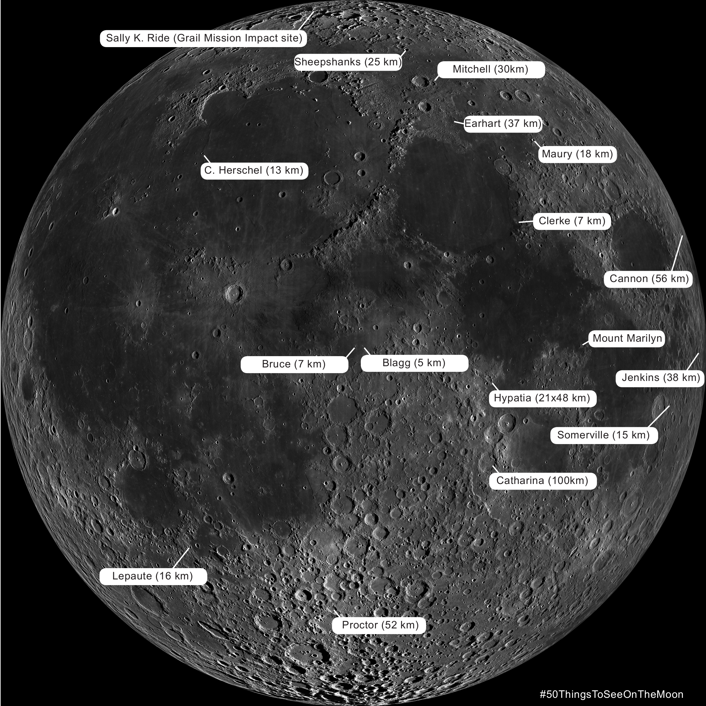 Lunar Craters named for women Map indesign test.png