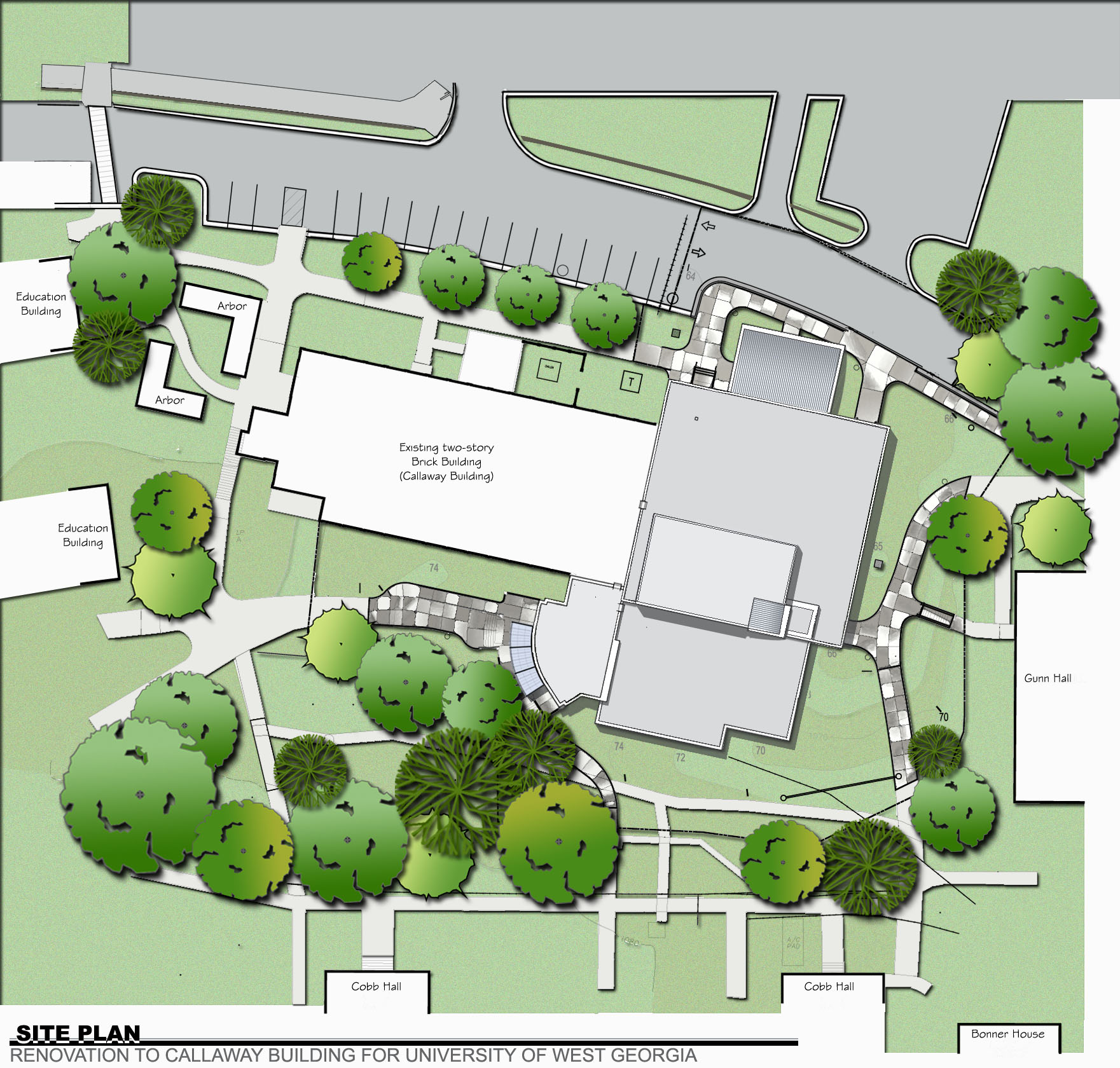 Callaway - Site Plan - Survey 12-01-2006.jpg
