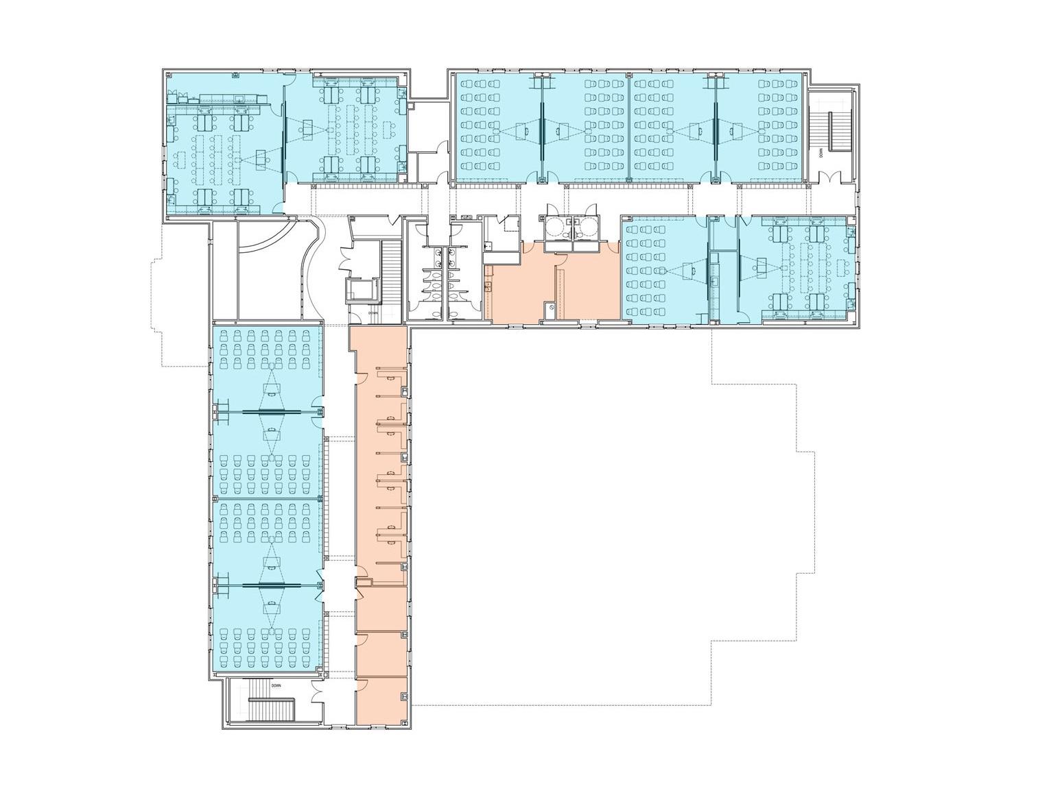 Davis Middle School - SECOND FLOOR plan.jpg