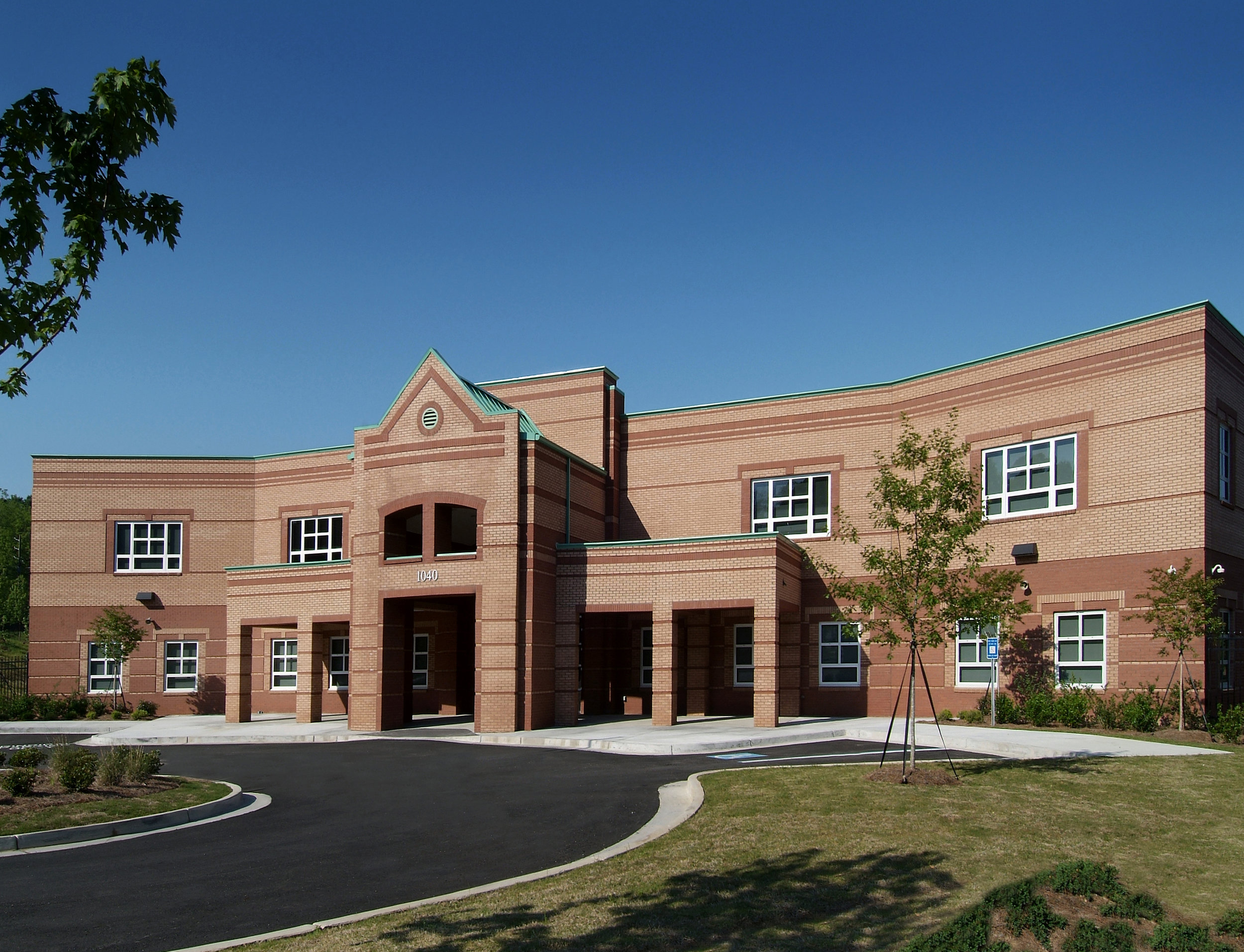 M A Jones Elmentary Schools -  Front Exterior View 1 - no border.jpg