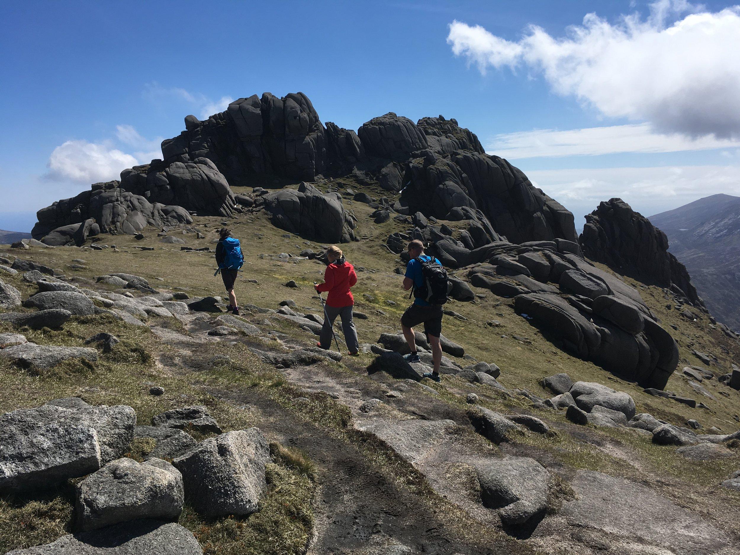 Bearnagh summit.JPG