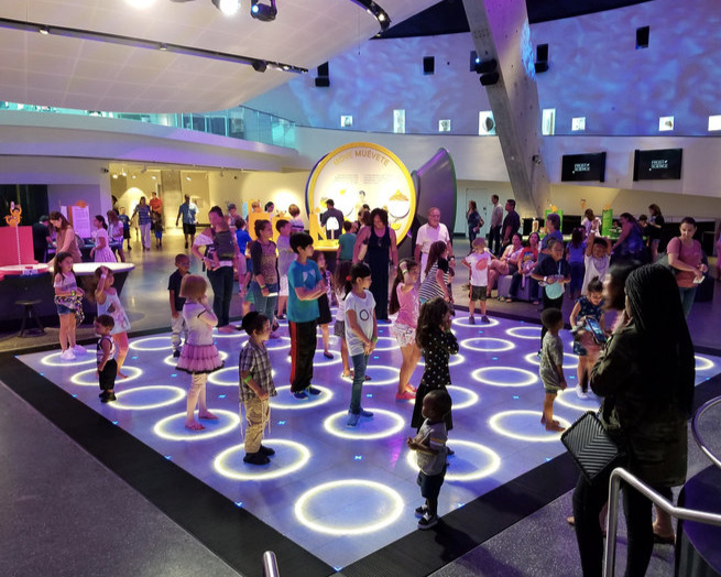 Museums + Learning/Play zones -