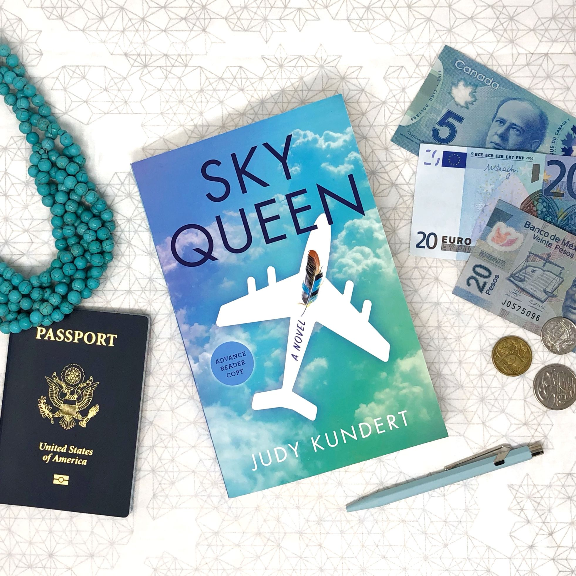 Sky Queen by Judy Kundert. Review by Jessica Mack on Latest Book Crush.