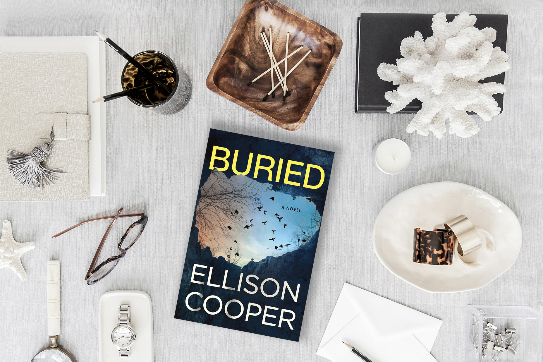 Buried by Ellison Cooper. Review by Jessica Mack on Latest Book Crush.