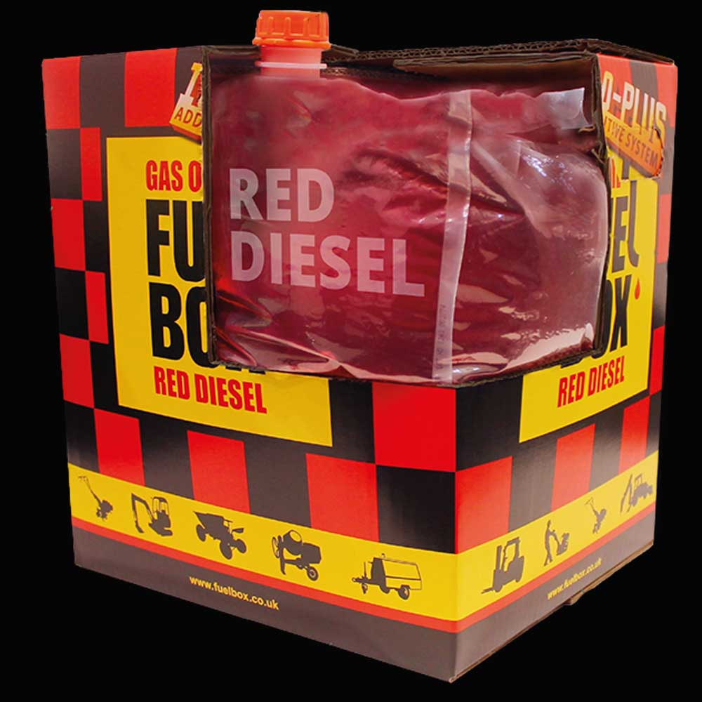 Redefining the Re-Launch of FuelBox - 20 litres of red diesel in a box
