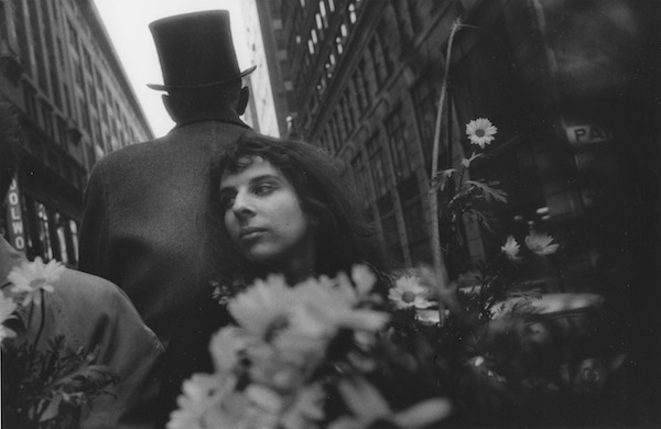Mary Frank in the Daisy Carriage, 1960