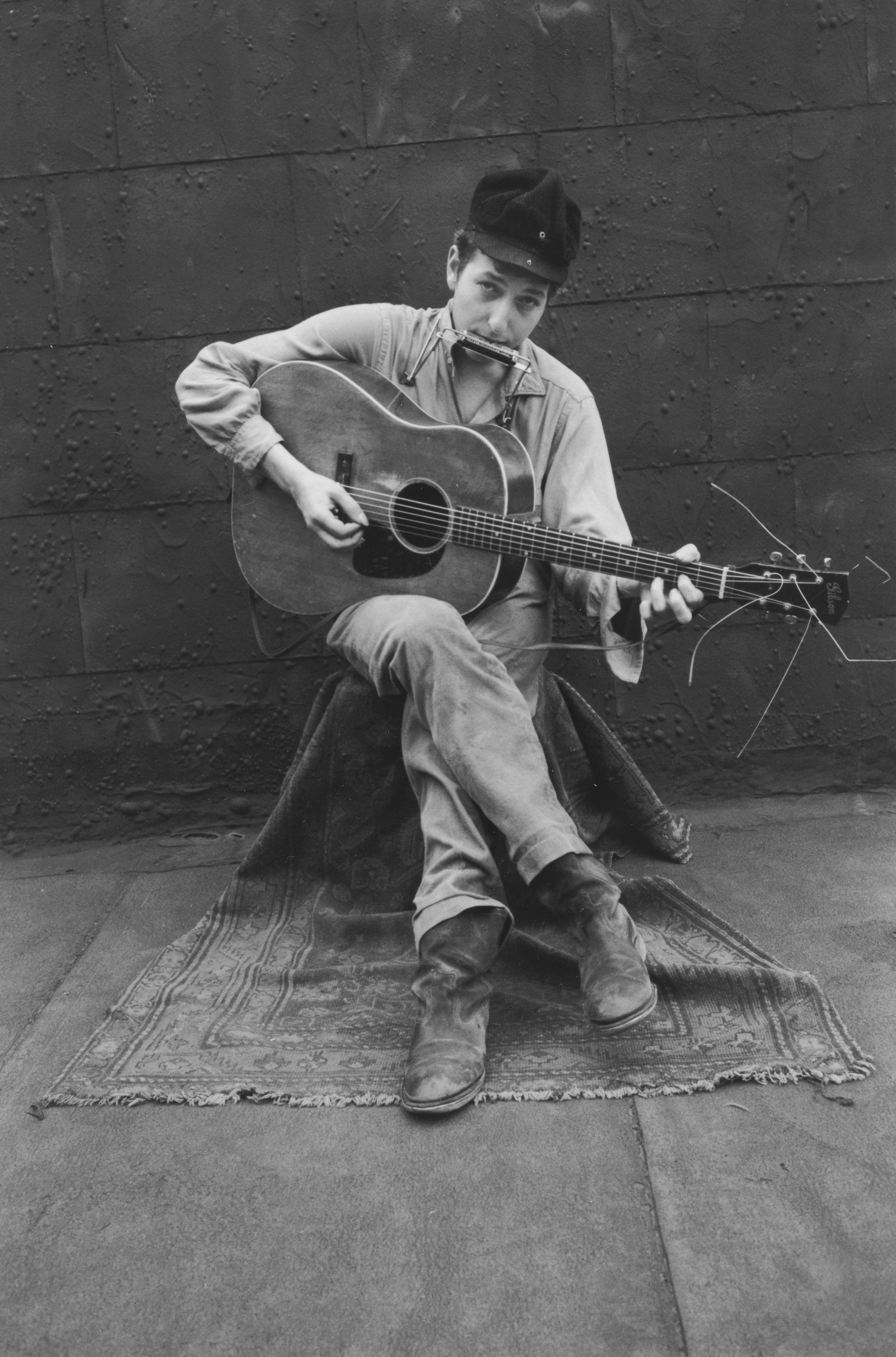 Bob Dylan On My Roof, 1962