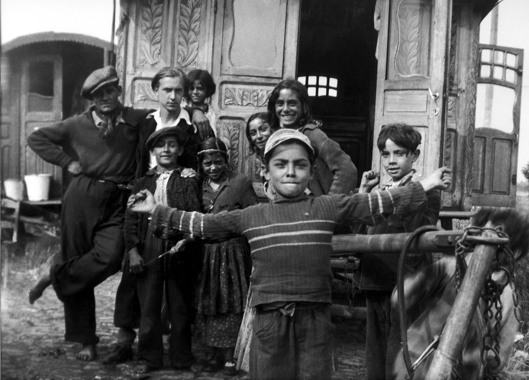 Untitled (Yoors with Roma in Belgium), 1938
