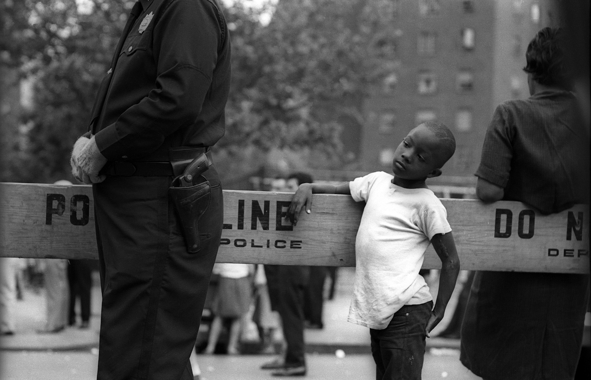 Untitled (boy at Police Line), 1966