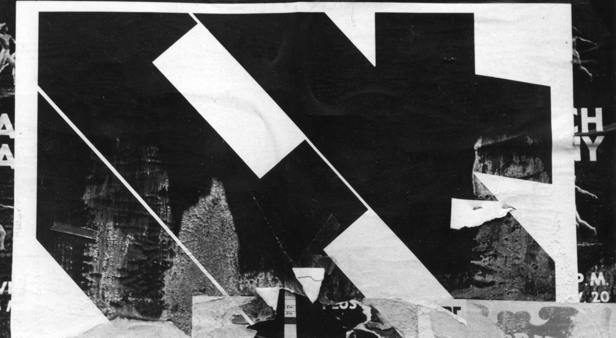 Untitled (NYC Chinese New Year abstraction), 1969