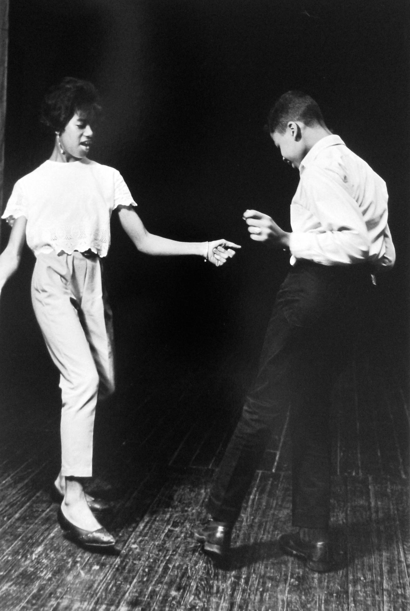 Untitled (dancing at Yoors' studio), 1962