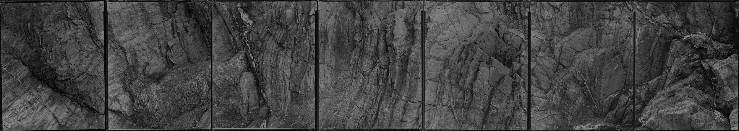 Untitled 7 panel piece ( 5-28-02-9 ), 2002
