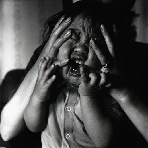 Crying of a Child, from the series Los Caprichos, 1975