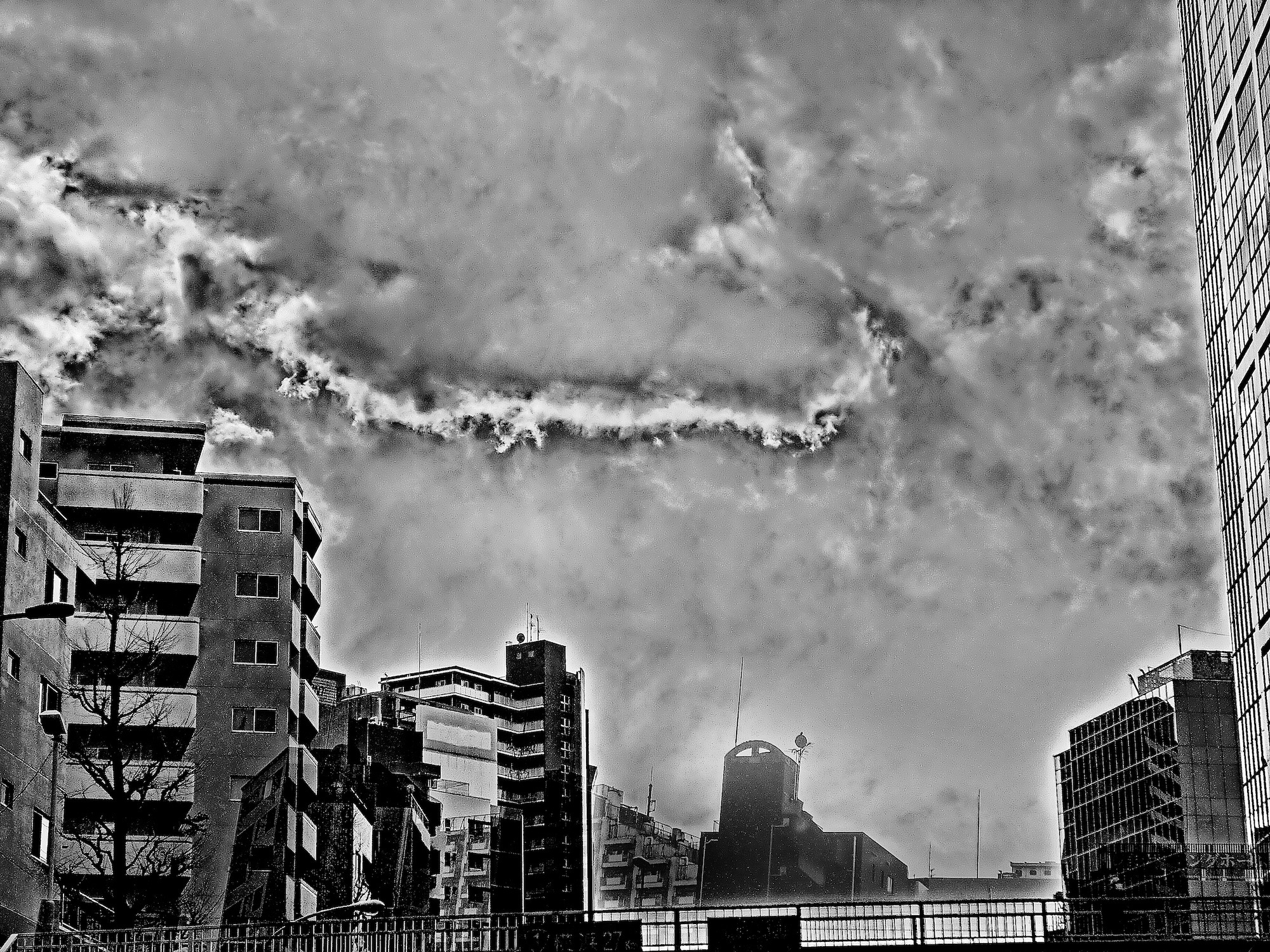 Tokyo, Chaos Cloud 2011 (from the series 2011-phenomena)