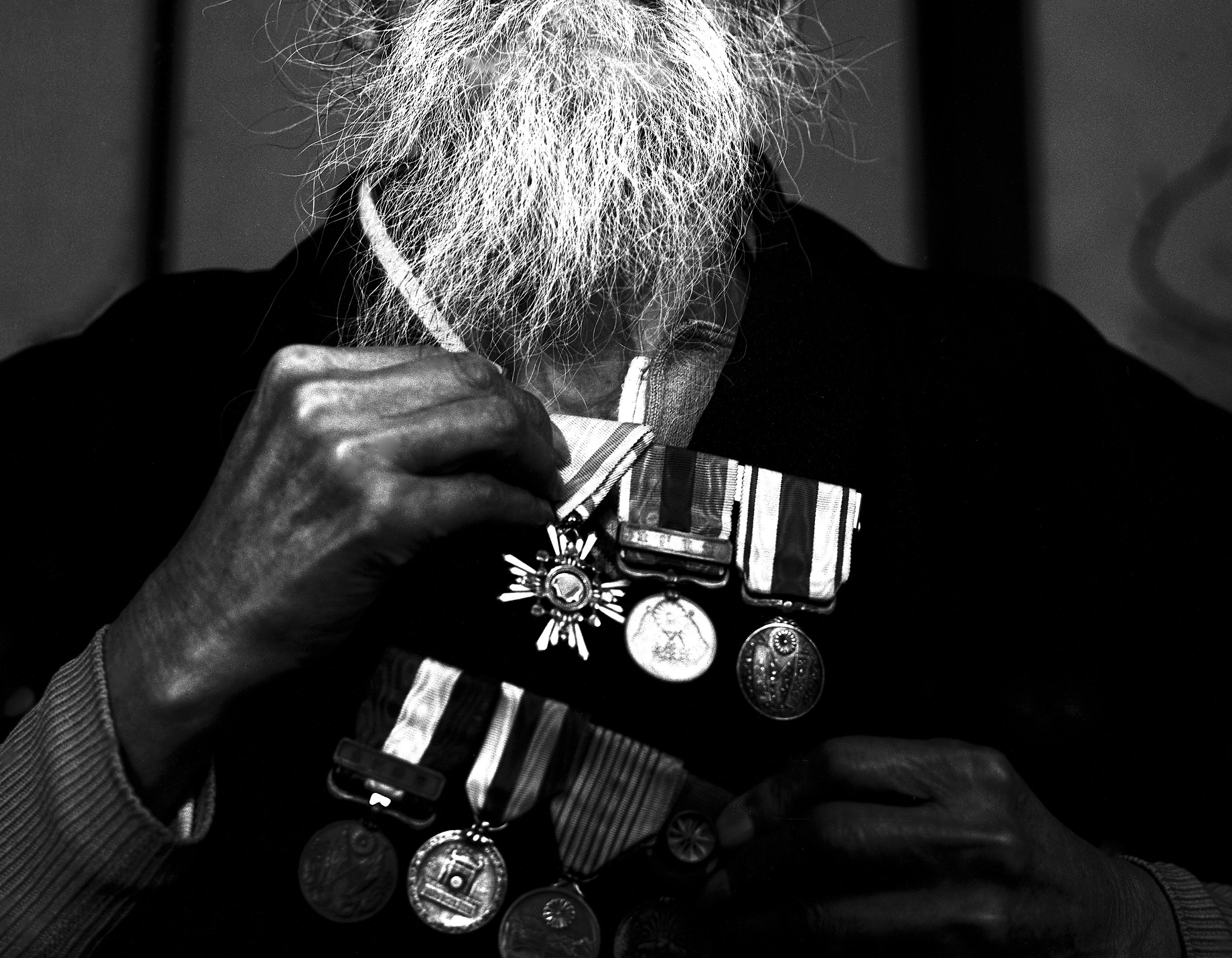 Medals and Orders of Ninety-Year-Old Japanese, 1961