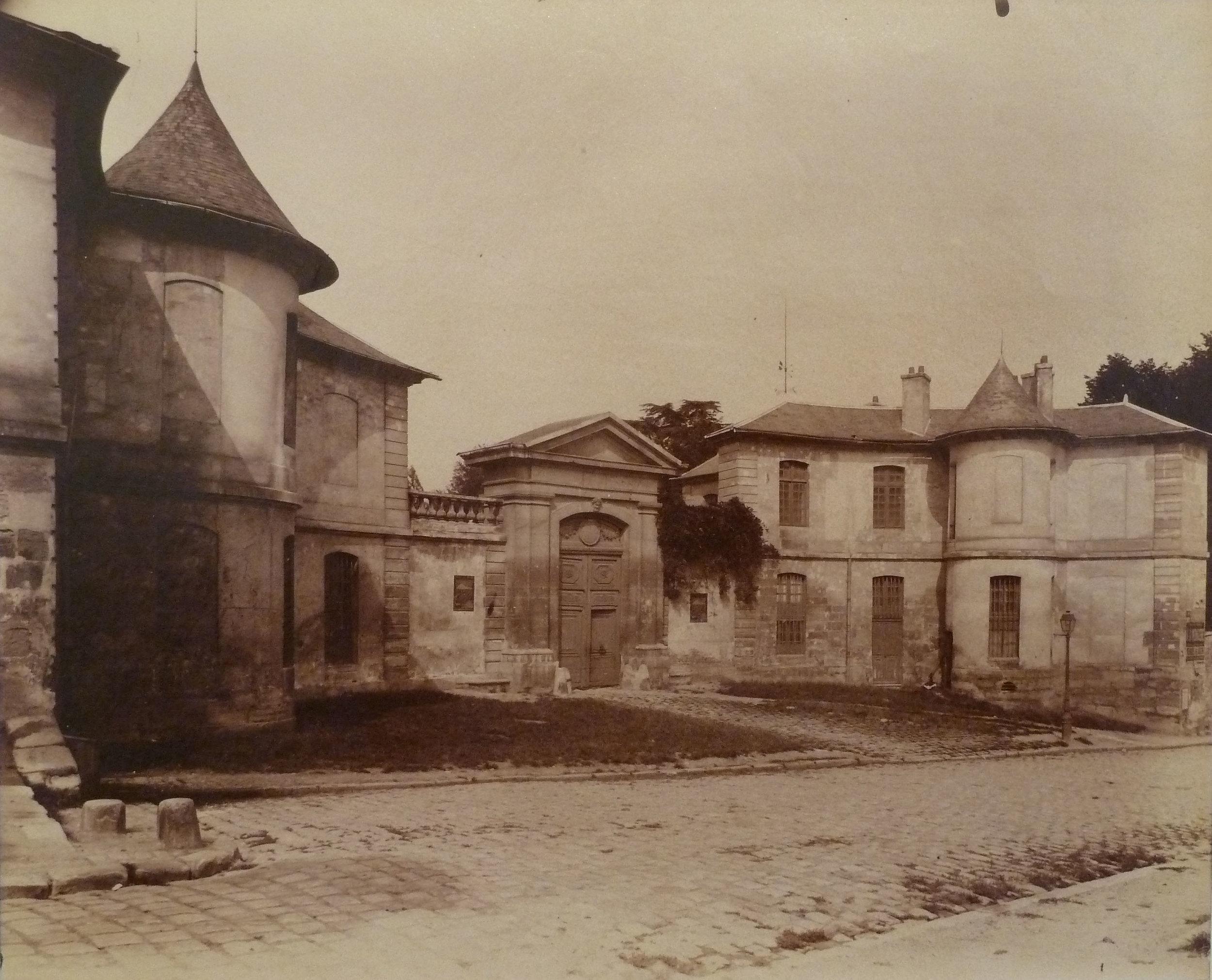 Issy – ancien Chateau Bazin de la Baziniere, 1901